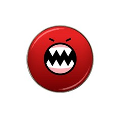 Funny Angry Hat Clip Ball Marker by BangZart