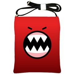 Funny Angry Shoulder Sling Bags by BangZart
