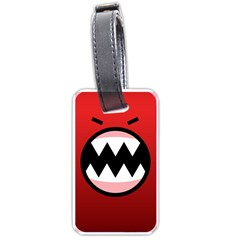 Funny Angry Luggage Tags (two Sides) by BangZart