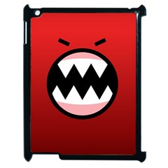 Funny Angry Apple Ipad 2 Case (black) by BangZart