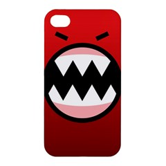 Funny Angry Apple Iphone 4/4s Hardshell Case by BangZart