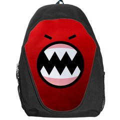 Funny Angry Backpack Bag by BangZart