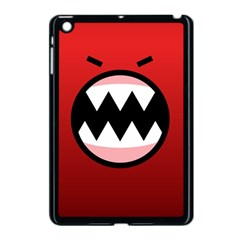 Funny Angry Apple Ipad Mini Case (black) by BangZart