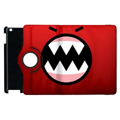 Funny Angry Apple Ipad 2 Flip 360 Case by BangZart