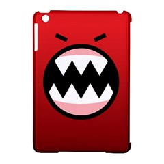Funny Angry Apple Ipad Mini Hardshell Case (compatible With Smart Cover) by BangZart