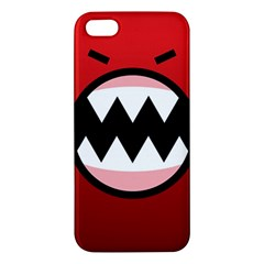 Funny Angry Apple Iphone 5 Premium Hardshell Case by BangZart