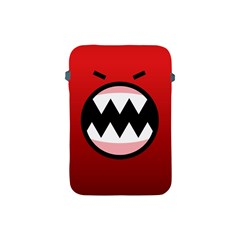 Funny Angry Apple Ipad Mini Protective Soft Cases by BangZart