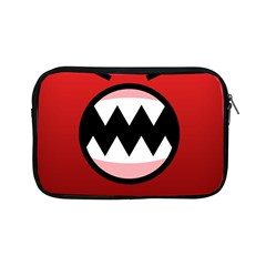 Funny Angry Apple Ipad Mini Zipper Cases by BangZart