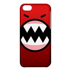 Funny Angry Apple Iphone 5c Hardshell Case by BangZart