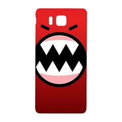 Funny Angry Samsung Galaxy Alpha Hardshell Back Case by BangZart