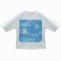Blue Squares Iphone 5 Wallpaper Infant/toddler T Shirts