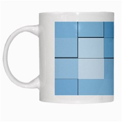 Blue Squares Iphone 5 Wallpaper White Mugs by BangZart