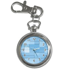 Blue Squares Iphone 5 Wallpaper Key Chain Watches
