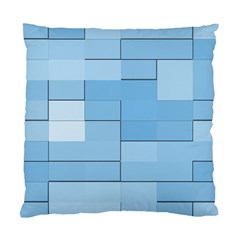 Blue Squares Iphone 5 Wallpaper Standard Cushion Case (two Sides) by BangZart