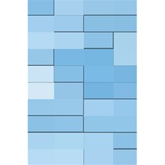 Blue Squares Iphone 5 Wallpaper 5 5  X 8 5  Notebooks by BangZart