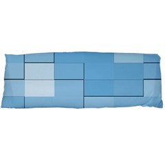 Blue Squares Iphone 5 Wallpaper Body Pillow Case Dakimakura (two Sides)