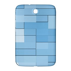 Blue Squares Iphone 5 Wallpaper Samsung Galaxy Note 8 0 N5100 Hardshell Case