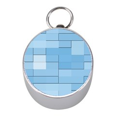 Blue Squares Iphone 5 Wallpaper Mini Silver Compasses by BangZart