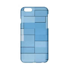 Blue Squares Iphone 5 Wallpaper Apple Iphone 6/6s Hardshell Case by BangZart