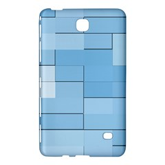 Blue Squares Iphone 5 Wallpaper Samsung Galaxy Tab 4 (7 ) Hardshell Case  by BangZart