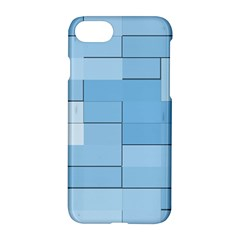 Blue Squares Iphone 5 Wallpaper Apple Iphone 7 Hardshell Case by BangZart