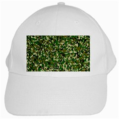 Camo Pattern White Cap by BangZart