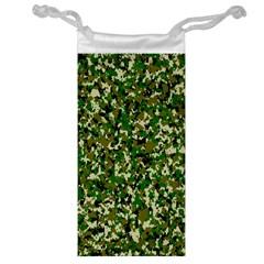 Camo Pattern Jewelry Bag