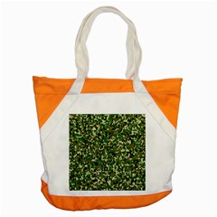 Camo Pattern Accent Tote Bag by BangZart