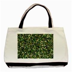 Camo Pattern Basic Tote Bag (two Sides) by BangZart