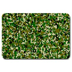 Camo Pattern Large Doormat  by BangZart