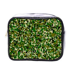 Camo Pattern Mini Toiletries Bags by BangZart