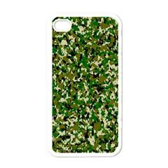 Camo Pattern Apple Iphone 4 Case (white)