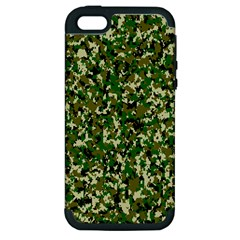 Camo Pattern Apple Iphone 5 Hardshell Case (pc+silicone)