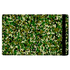 Camo Pattern Apple Ipad 3/4 Flip Case by BangZart