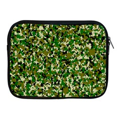 Camo Pattern Apple Ipad 2/3/4 Zipper Cases by BangZart