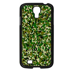 Camo Pattern Samsung Galaxy S4 I9500/ I9505 Case (black) by BangZart