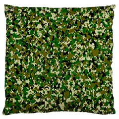 Camo Pattern Standard Flano Cushion Case (one Side)