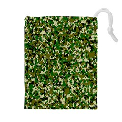 Camo Pattern Drawstring Pouches (extra Large) by BangZart