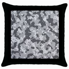 Camouflage Patterns Throw Pillow Case (black) by BangZart