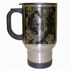Camouflage Patterns Travel Mug (silver Gray)