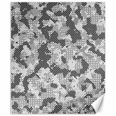 Camouflage Patterns Canvas 8  X 10  by BangZart