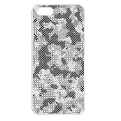 Camouflage Patterns Apple Iphone 5 Seamless Case (white)