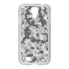 Camouflage Patterns Samsung Galaxy S4 I9500/ I9505 Case (white) by BangZart