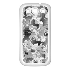 Camouflage Patterns Samsung Galaxy S3 Back Case (white) by BangZart