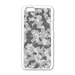 Camouflage Patterns Apple Iphone 6/6s White Enamel Case by BangZart