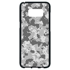 Camouflage Patterns Samsung Galaxy S8 Black Seamless Case