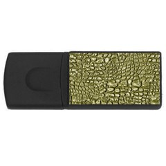 Aligator Skin Usb Flash Drive Rectangular (4 Gb) by BangZart