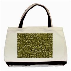 Aligator Skin Basic Tote Bag