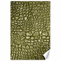 Aligator Skin Canvas 20  X 30   by BangZart