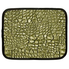 Aligator Skin Netbook Case (large) by BangZart
